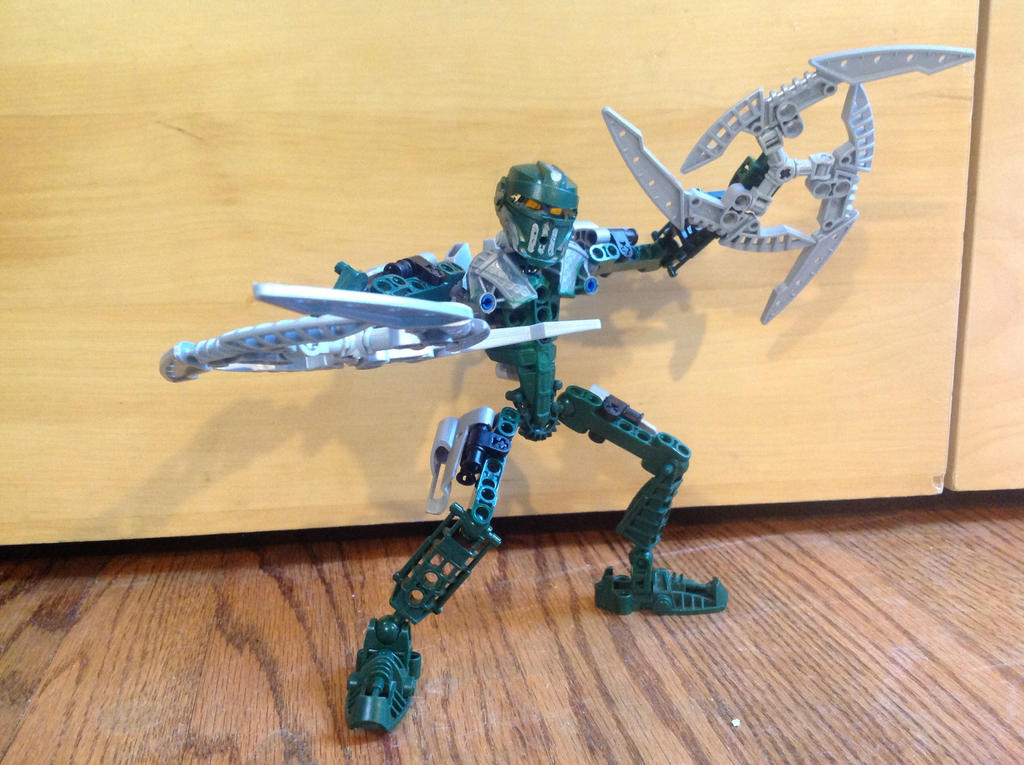 Toa Zakita by JacobLazer