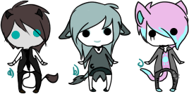 Tiny Adoptables [Auction : Closed] by GeXeHeNNa