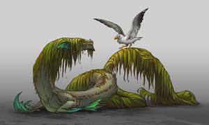 Kelp Forest Dragon sketch