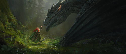 The brave men do not kill dragons