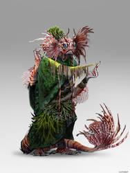 Fish Man creatuanary 2021 day 1