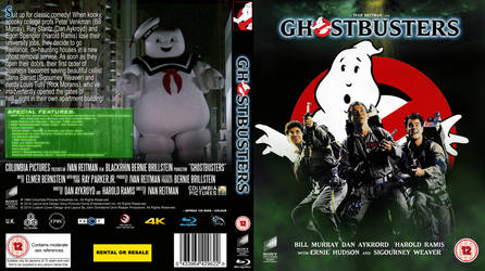 Ghostbusters 30th Anniversary Blu Ray cover
