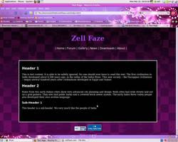 ZellFaze.org Design