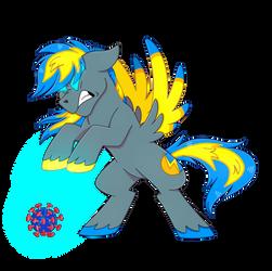 arc flash destroying covid