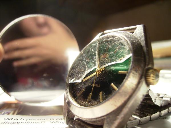 broken clock by WeLikeDirt
