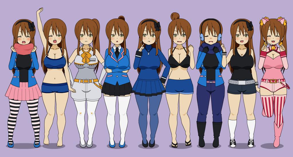Kat's Wardrobe by KiseMaicul