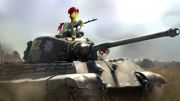 [Commission] Stolen panzer
