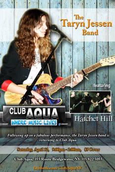 Taryn Jessen Band Poster