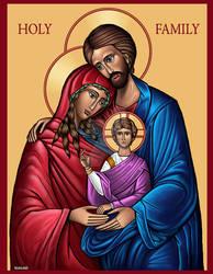 Holy Family Icon