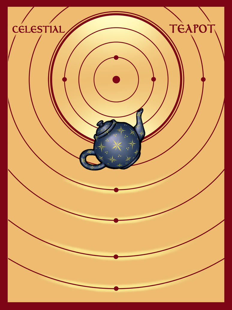 Celestial Teapot by TestingPointDesign