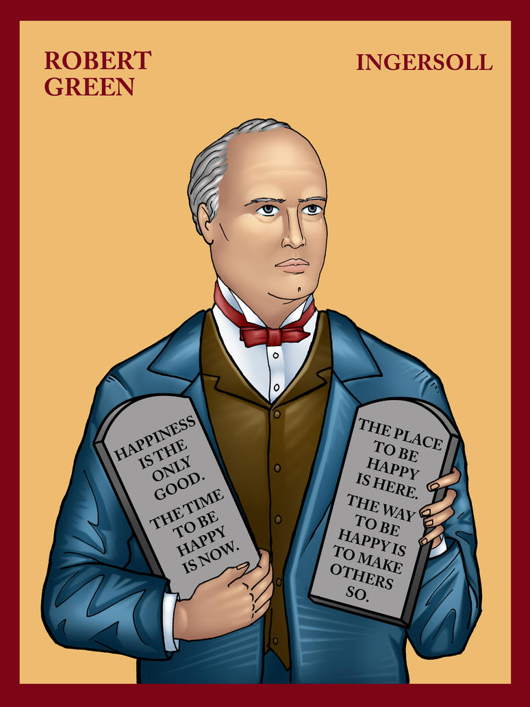 Robert Green Ingersoll by TestingPointDesign