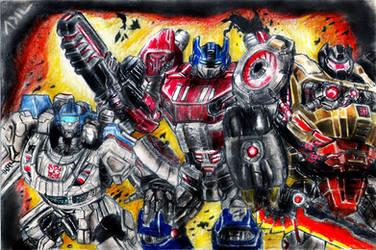Autobots by PharmArtist