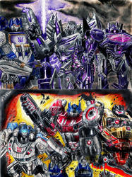 Transformers Fall Of Cybertron by PharmArtist