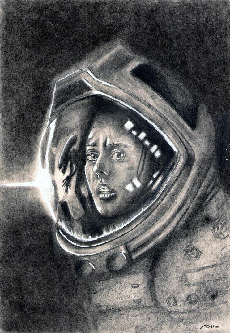 Amanda Ripley - Alien Isolation by kill312