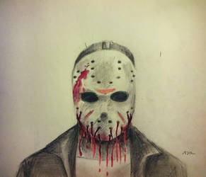 Jason Voorhees  by PharmArtist