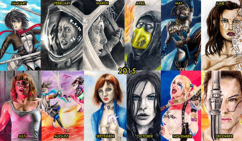 2015 - Personal Picks by kill312