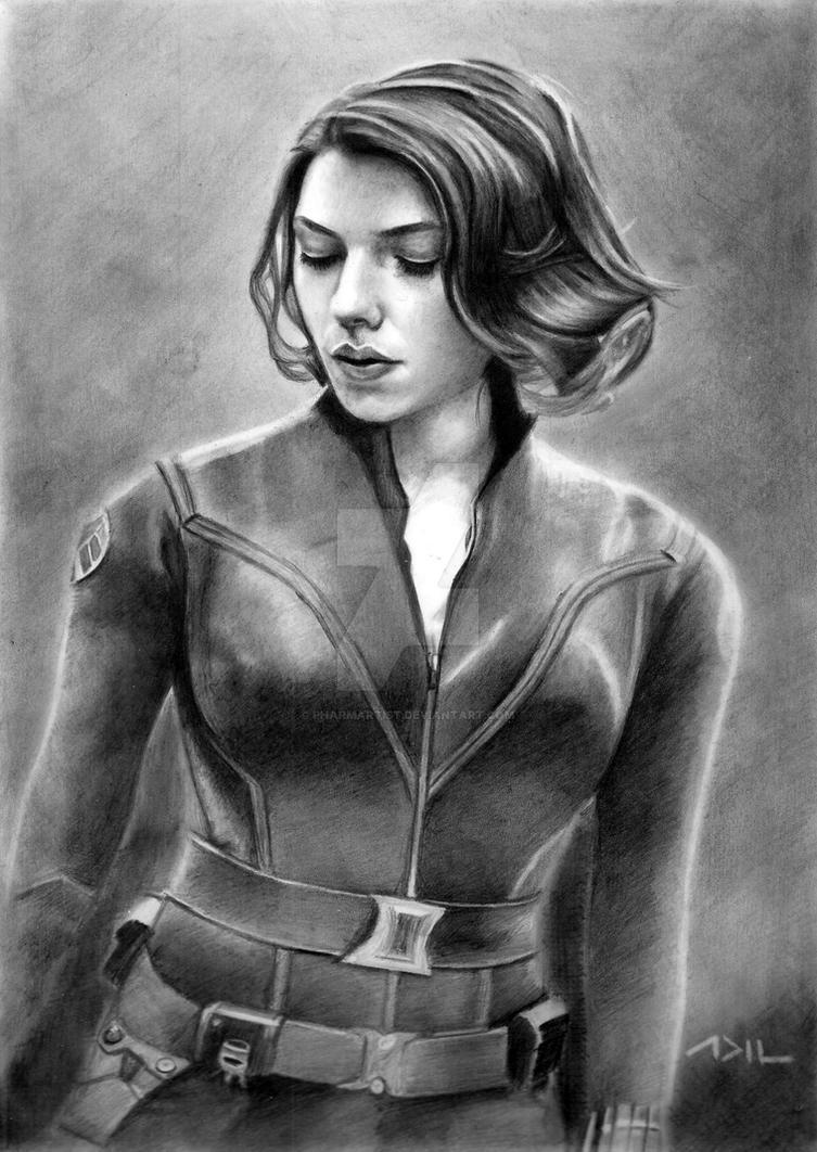 Black Widow by PharmArtist