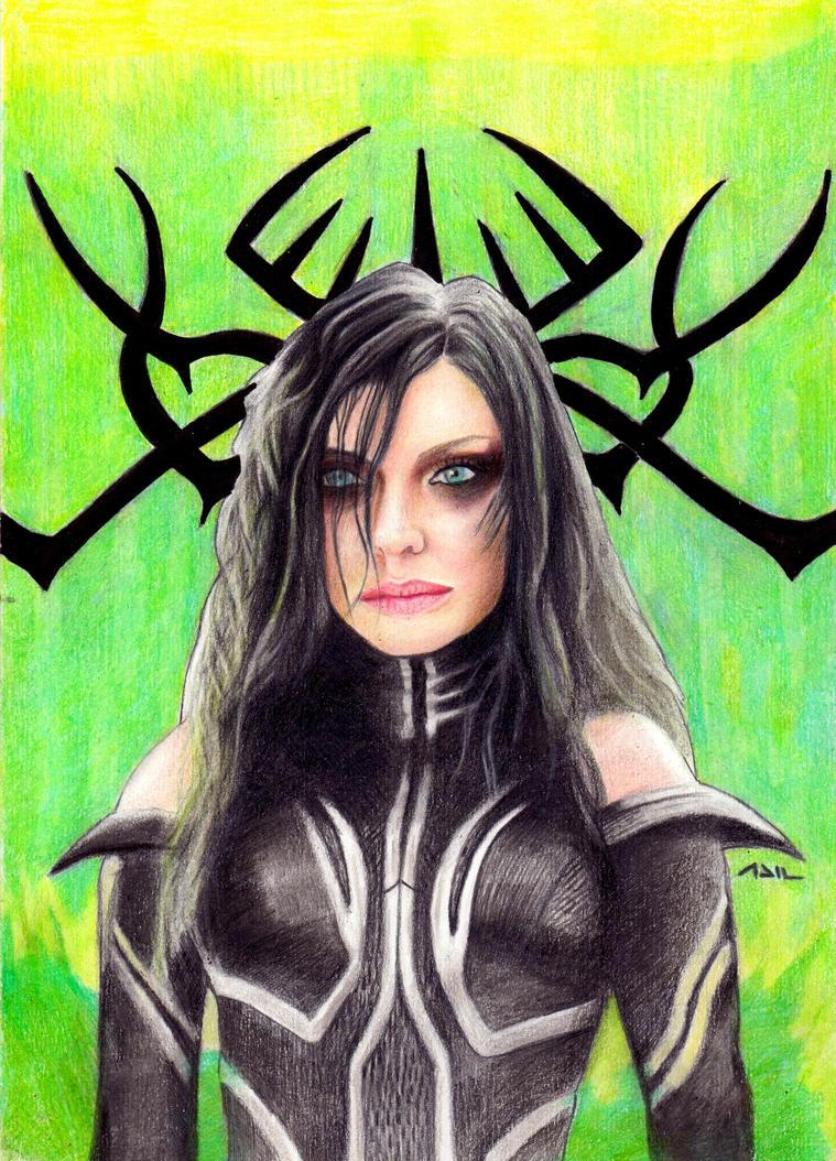 Hela - Thor Ragnarok by PharmArtist