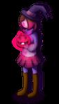 Betty with Kumu pumpkin - [COLLAB]
