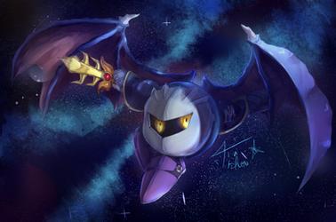 Meta Knight by Tia-Tchou