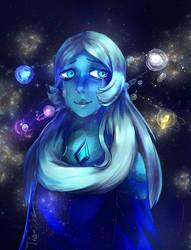 Blue Diamond by Tia-Tchou