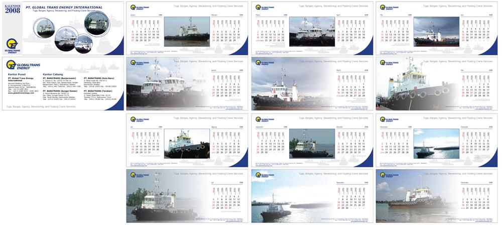 Global Trans Calendar by astayoga