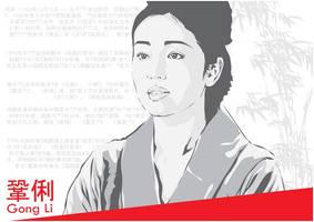 Gong Li by astayoga