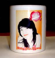 Mug Chika by astayoga