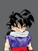 Dragon Ball-Gohan by astayoga