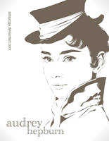 Audrey Hepburn by astayoga