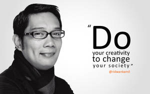 Ridwan Kamil's Quote on Creativity by astayoga