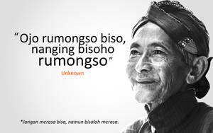 Ojo Rumongso Biso by astayoga