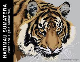 Tiger Illustration by astayoga