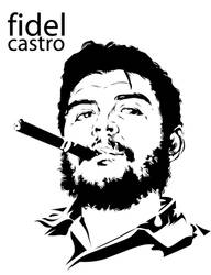 Fidel Castro by astayoga