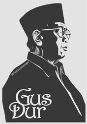 Gus Dur by astayoga