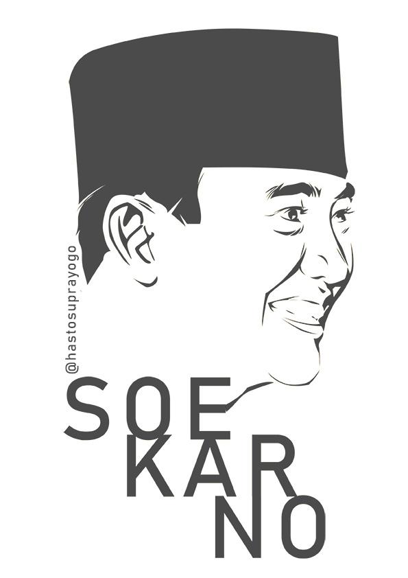 Soekarno by astayoga