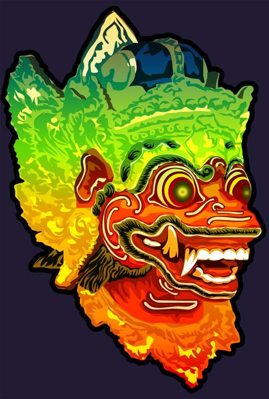 Barong Mask by astayoga