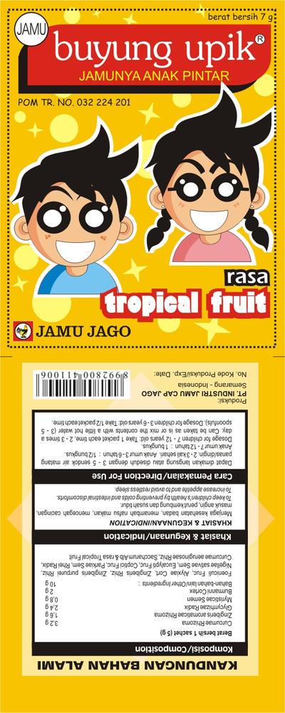 Buyung Upik Tropical Fruit