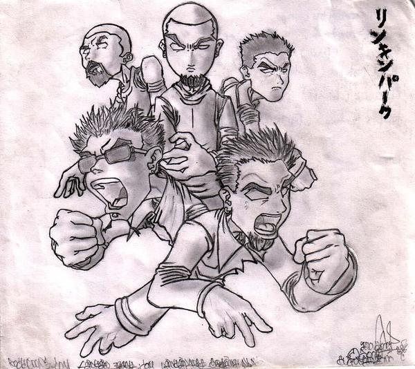 Linkin Park by puguhshinoda