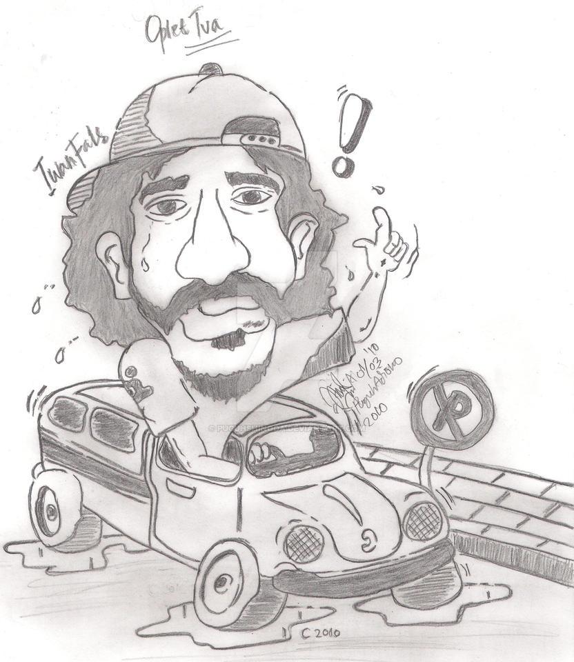 Karikatur_Iwan_Fals_Oplet_Tua by puguhshinoda