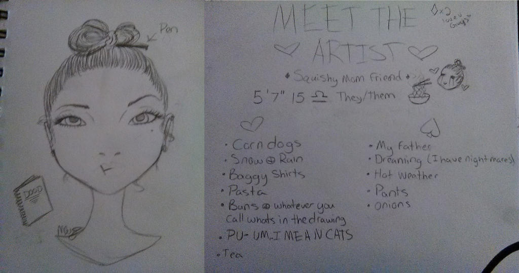 Meet The Artist (again) by All-The-Fish-Here