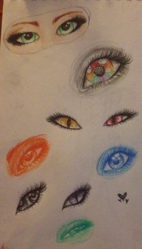 Eyes by All-The-Fish-Here