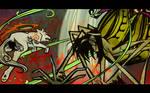 Amaterasu VS the Spider Queen