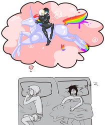 Abel your dreams are so GAY by Avibroso