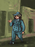 Costume fun: Mobster by Avibroso