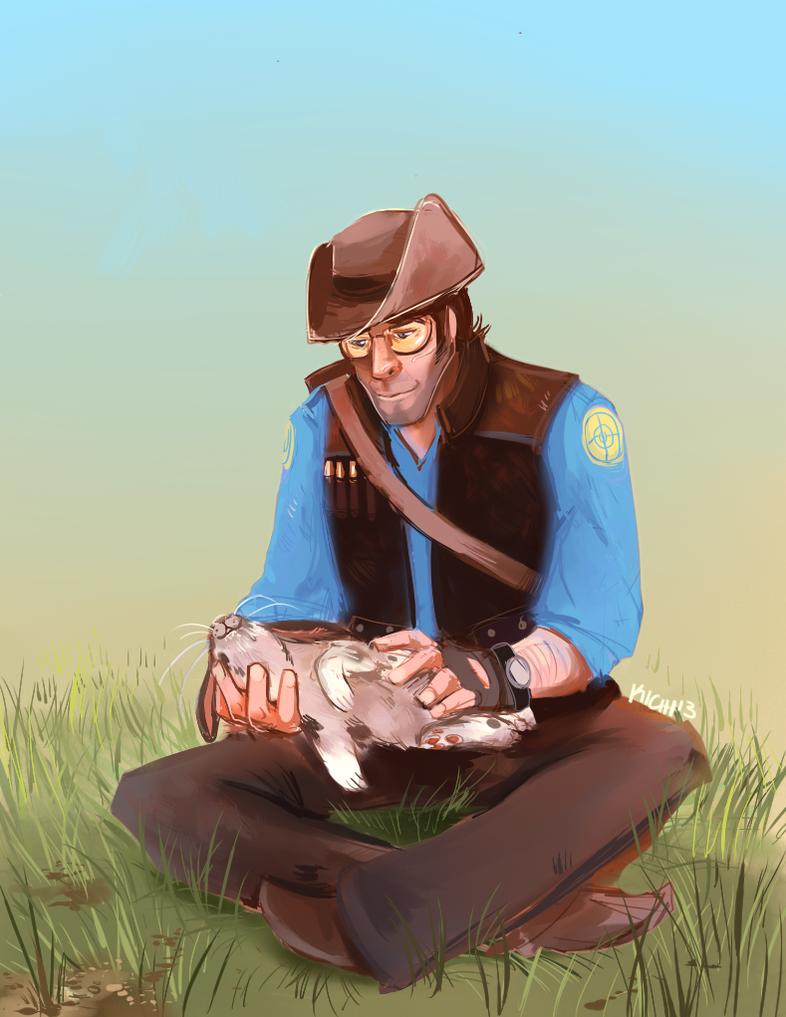 Rabbits are cute by Avibroso
