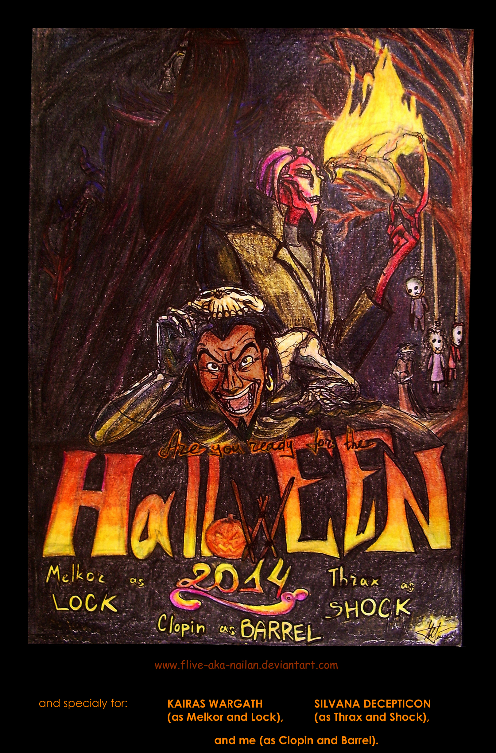 Halloween-2014 (the multy-crossover) by Flive-aka-Nailan