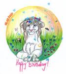 Birthday Sheria by Flive-aka-Nailan