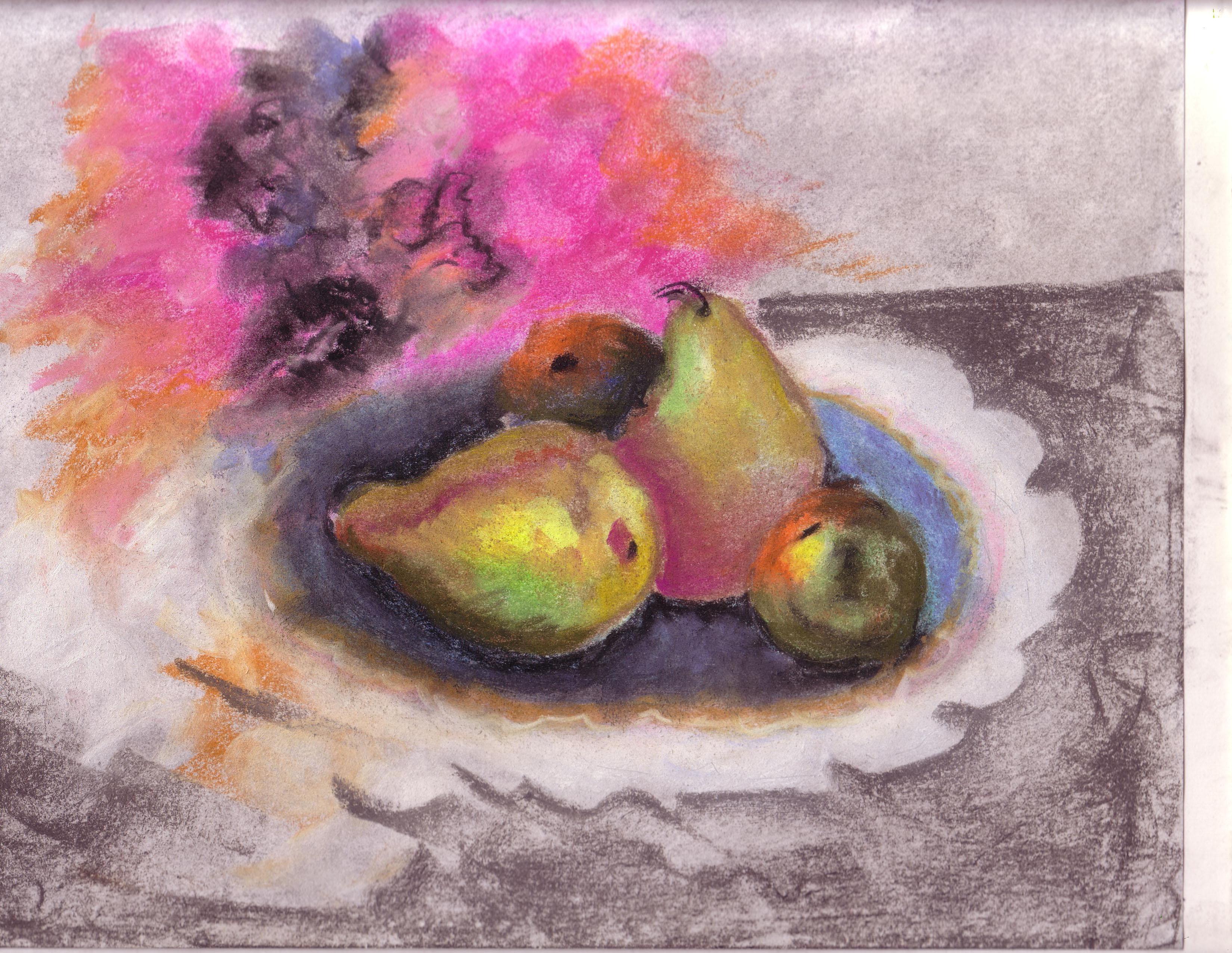 Pastel fruit