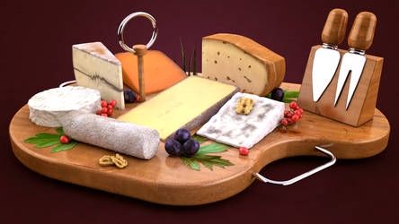 Fromages by KageWebsite